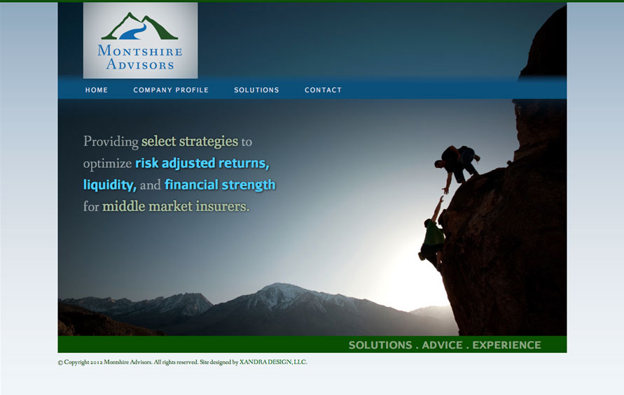 Montshire Advisors Website