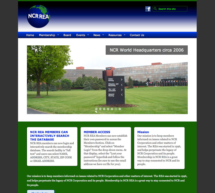 NCR REA Website
