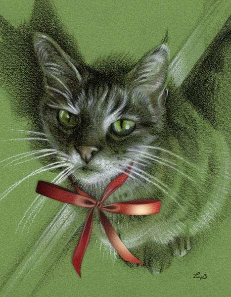 Christmas Menkara on Green